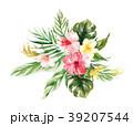 ウェディング お花 フラワーのイラスト 39207544