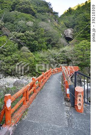 奇絶峡 滝見橋(和歌山県田辺市) 39210309