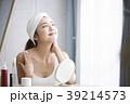 人物 女性 鏡の写真 39214573
