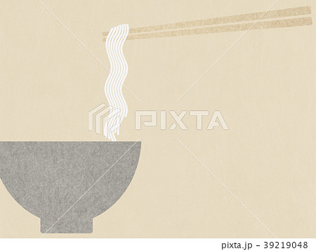 背景-和紙-麺 39219048