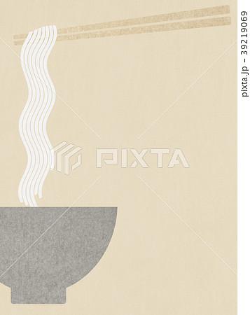 背景-和紙-麺 39219069