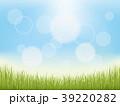 青空と芝生 39220282