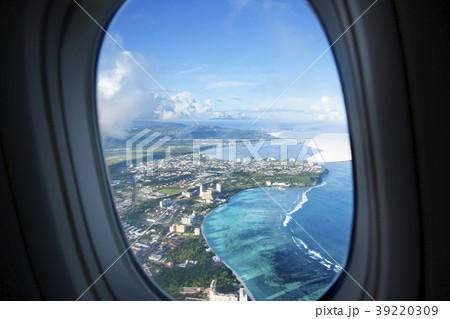飛行機から見たグアム 39220309