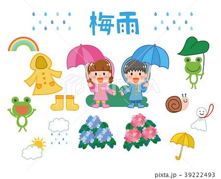 梅雨のイメージイラスト素材 39222493