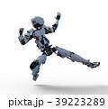 人型ロボット perming3DCGイラスト素材 39223289