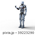 人型ロボット perming3DCGイラスト素材 39223290