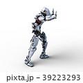 人型ロボット perming3DCGイラスト素材 39223293