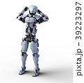 人型ロボット perming3DCGイラスト素材 39223297
