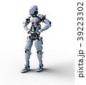 人型ロボット perming3DCGイラスト素材 39223302