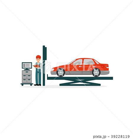 Vehicle technical maintenance, car mechanics 39228119