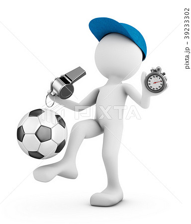 man with a soccer ball 39233302
