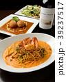 パスタ 野菜 トマトの写真 39237517