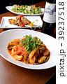 パスタ 野菜 トマトの写真 39237518