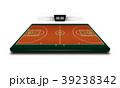バスケ バスケットボール 野原のイラスト 39238342