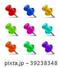 pin ピン 立体のイラスト 39238348