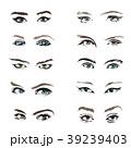 目 眼 ベクタのイラスト 39239403