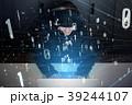 ハッカー 男性 ハッキングの写真 39244107