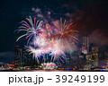 夜景と花火 39249199