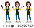 理容師 理髪師 美容師のイラスト 39250752