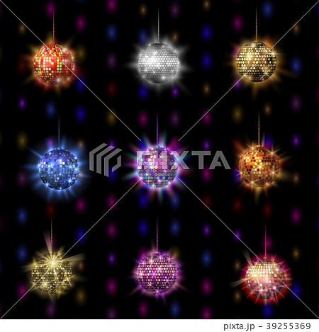Disco ball discotheque music party night club 39255369