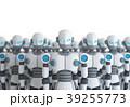 サイボーグ ロボット 立体のイラスト 39255773