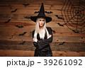 ハロウィン ハロウィーン 魔女の写真 39261092