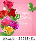 お母さん バラ 花束のイラスト 39265451