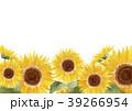 ひまわり 向日葵 花のイラスト 39266954