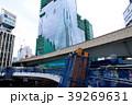 渋谷再開発 歩道橋架け替えと建設中のビル 明治通りとR246交差点 2018.03 39269631