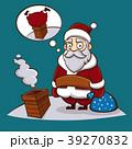 Christmas illustration of Santa Claus 39270832