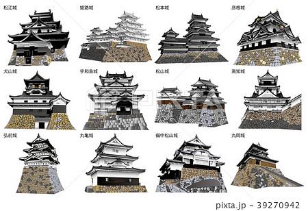日本の城現存天守 39270942