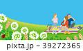 ピクニック 家族 人物のイラスト 39272365