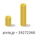 コイン ビットコイン 仮想通貨のイラスト 39272366
