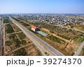 風景 九十九里 空撮の写真 39274370