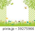 春の草花 草原の風景 39275966