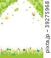 春の草花 草原の風景 39275968