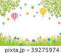 春の草花 草原の風景 39275974