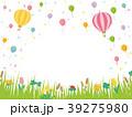 春の草花 草原の風景 39275980