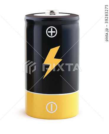 Battery realistic vector 3d Illustration 39283275