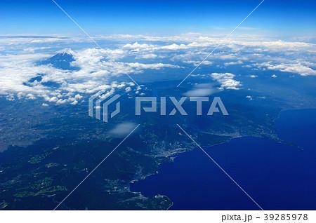太平洋上空 熱海付近 空撮 39285978
