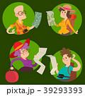 人々 人物 マップのイラスト 39293393