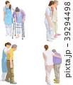 シニア 介護 ベクターのイラスト 39294498