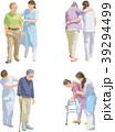 シニア 介護 ベクターのイラスト 39294499
