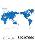 世界地図 地図 世界のイラスト 39297660