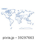 世界地図 地図 世界のイラスト 39297663