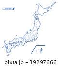 日本地図 日本 地図のイラスト 39297666