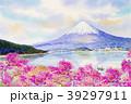 ふじ フジ 富士のイラスト 39297911