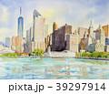 ヨーク州 高層ビル群 超高層建築のイラスト 39297914