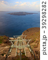 サントリーニ島-ロープウェイ04- 39298282