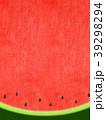 夏 スイカ 和紙のイラスト 39298294